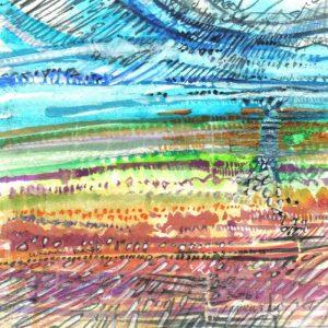 Robert Cairns DA - 2009 Paintings : Lunan Bay 2