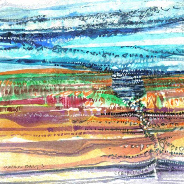 Robert Cairns DA - 2009 Paintings : Lunan Bay 3