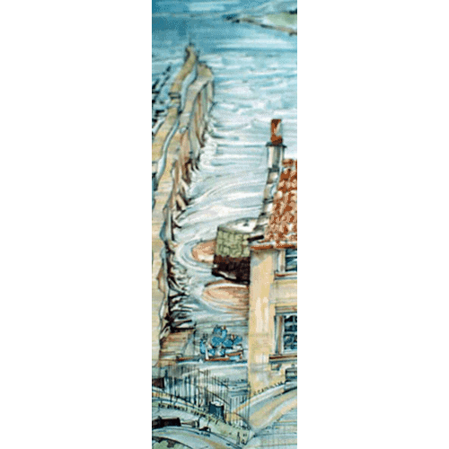 Robert Cairns DA - 2008 Paintings : St Andrews Harbour 2