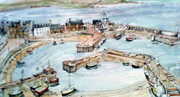 Robert Cairns DA - 2008 Paintings : Stonehaven Harbour