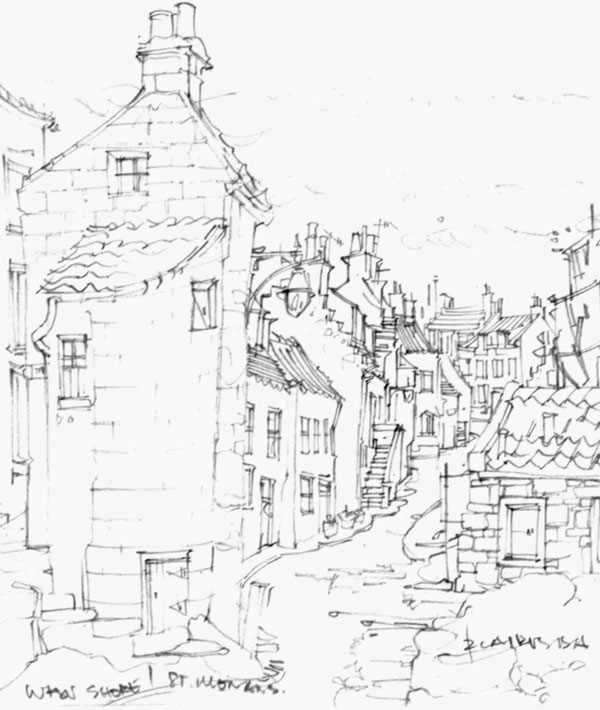 Robert Cairns DA - 2008 Drawings : West Shore, St Monans