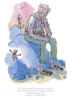 Quentin Blake - Could you make me dream it?