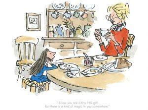Quentin Blake - There is a kind of magic in you