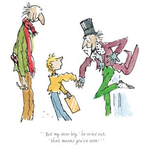 Quentin Blake - That means you've won