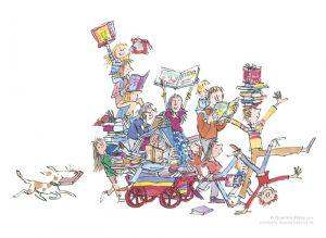 Quentin Blake - The Book Cart