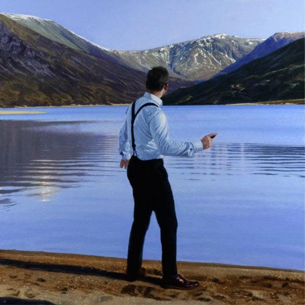 Iain Faulkner - Throwing Stones, Loch Callater