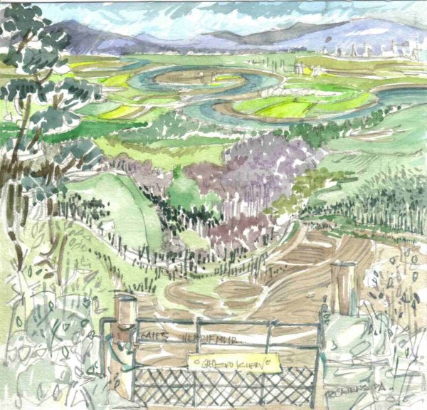 Robert Cairns DA - 2006 Paintings : Gates V, Sheriffmuir
