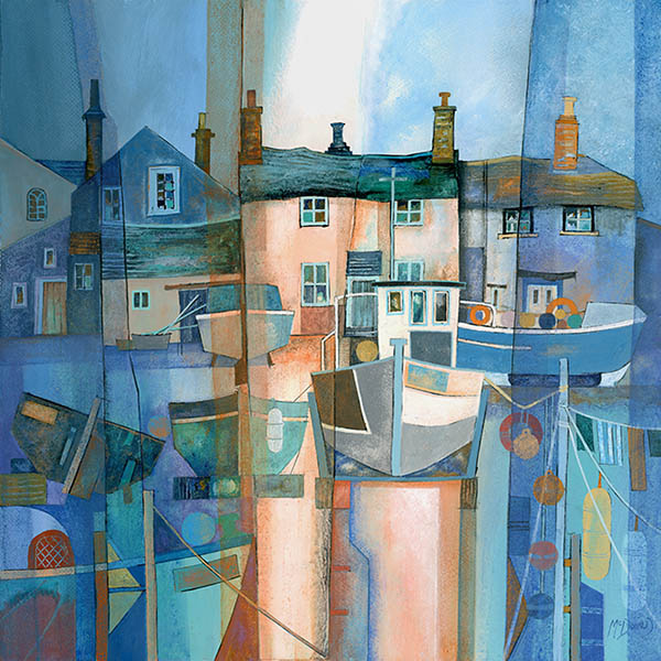 Gillian McDonald - Fishing Village VII