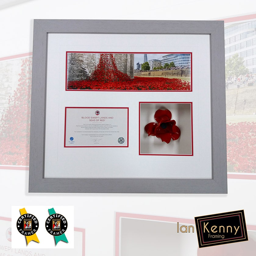 Commemorative Ceramic Poppy