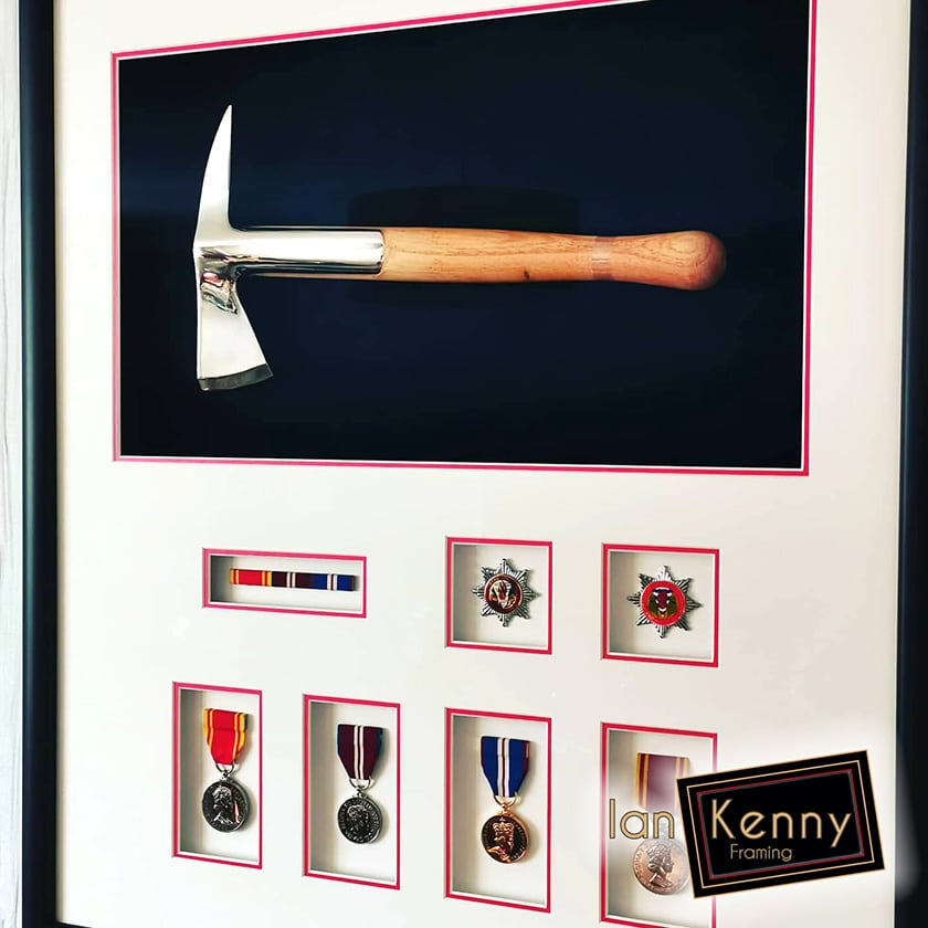 Fire Axe And Medals