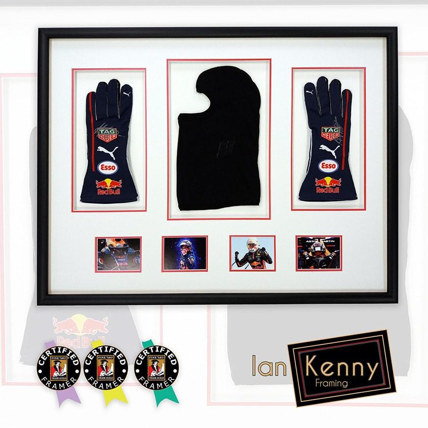 Max Verstappen Gloves & Mask