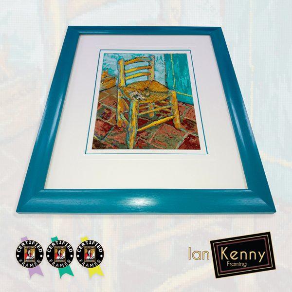 Van Gogh Chair Cross Stitch
